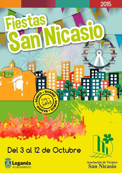 FIESTAS DE SAN NICASIO 2015 AV SAN NICASIO