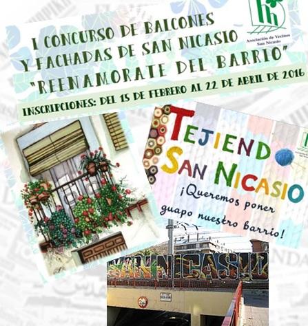 ARTE Y CREATIVIDAD PARA RECUPERAR NUESTRO BARRIO DE SAN NICASIO