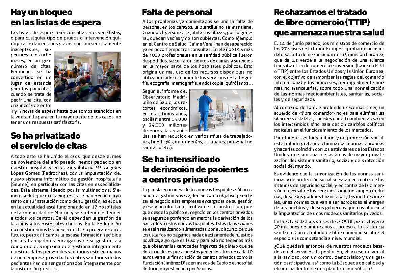 federacion triptico sanidad ASOCIACIÓN DE VECINOS DE SAN NICASIO FEDERACIÓN LOCAL DE ASOCIACIONES DE VECINOS