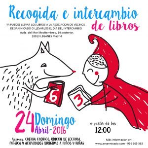 EVENTO-INTERCAMBIO DE LIBROS