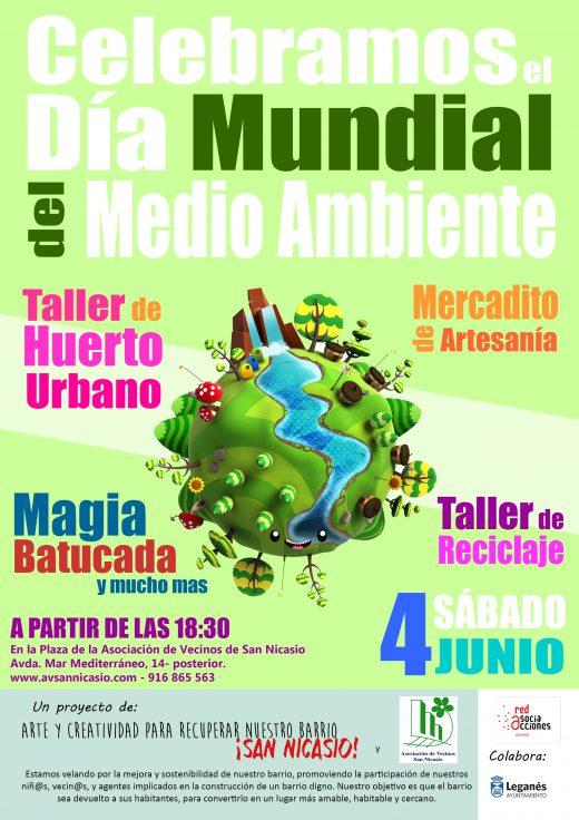 DÍA MUNDIAL DEL MEDIO AMBIENTE ASOCIACIÓN DE VECINOS SAN NICASIO RED DE ASOCIACCIONES