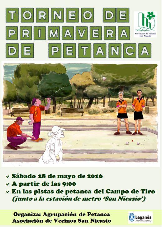 TORNEO DE PETANCA ASOCIACIÓN DE VECINOS SAN NICASIO