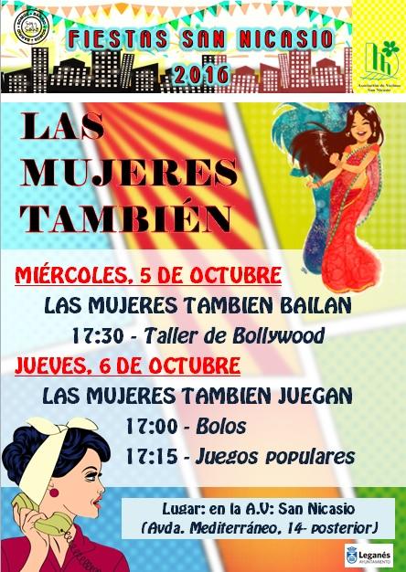 actividades-mujer-fiestas-san-nicasio-2016-5-y-6-octubre