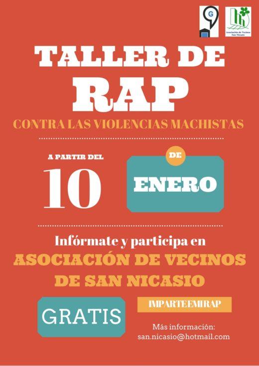 taller-rap-asociación de vecinos san nicasio