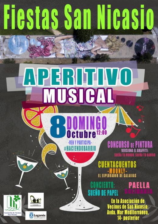 Aperitivo musical ASOCIACIÓN VECINAL SAN NICASIO FIESTAS SAN NICASIO 2017