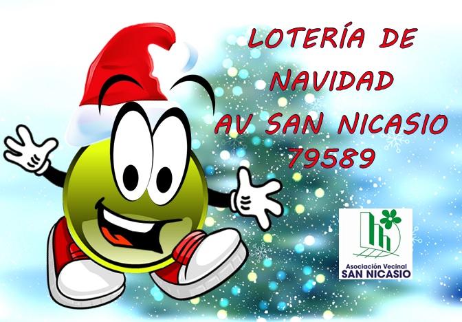 Dibujos De Loteria De Navidad.Loteria De Navidad De La Asociacion Vecinal San Nicasio
