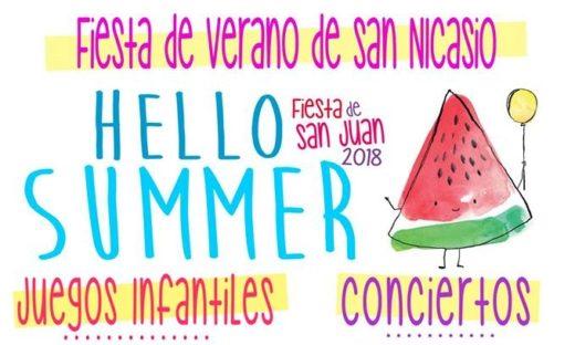 FIESTAS DE SAN JUAN 2018 ASOCIACIÓN VECINAL SAN NICASIO